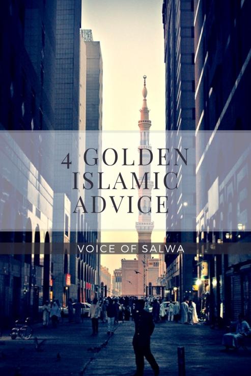 4 Islamic Advise